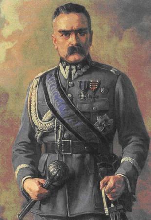 Chcąc pozyskać Polaków Niemcy zaczęli odwoływać się do wojny polsko-bolszewickiej oraz grać osobą Marszałka Piłsudskiego.