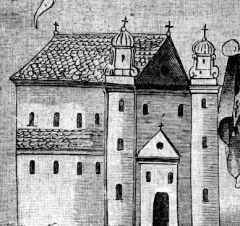 """Cerkiew Świętego Mikołaja w Brześciu. Formalnie to tutaj zawarto """"unię brzeską"""", z której niewiele dobrego wyniknęło..."""