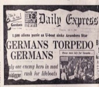 O paskudnej wpadce Niemców pisały brytyjskie gazety...
