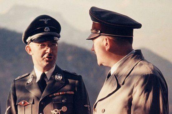Za ofertą złożoną Brand miał stać sam Heinrich Himmler (źródło: wikimedia commons, domena publiczna).