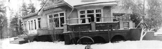 """Dacza w Pietrowo-Dalnim. To tutaj Chruszczow spędził ostatnie lata życia (fot. z książki """"Chruszczow. Człowiek i epoka"""", Bukowy Las 2012)."""