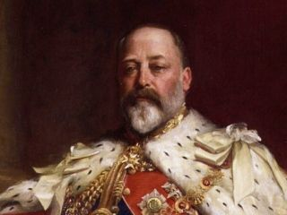 Edward VII na sztywno...
