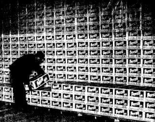 Tak wygląda 40 000 ton cukru... (Der Spiegel, 39/1973).