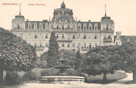 ...i jego ulubiony hotel: Weimar.