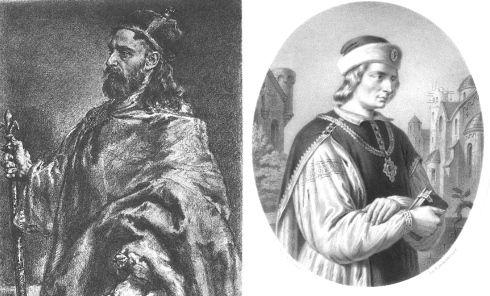 Władysław Herman - dwa XIX-wieczne wyobrażenia.