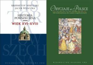 """Artykuł powstał w oparciu o dwie książki PWN-u: """"Historię powszechną. Wiek XVI-XVIII"""" oraz """"Obyczaje w Polsce""""."""