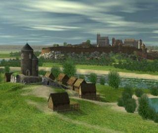 XIII-wieczny Kraków. Wirtualna rekonstrukcja prezentowana przed kilkoma laty na wystawie Muzeum Historycznego Miasta Krakowa.