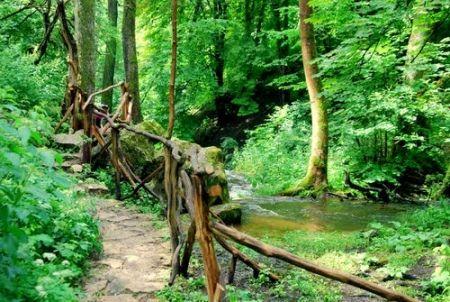 Droga do sztolni wiodła przez Majdan Kasztelański... (na zdjęciu; fot. Magda O.; źródło: Panoramio).