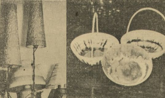 Takie lampy były i pięknym i praktycznym prezentem.