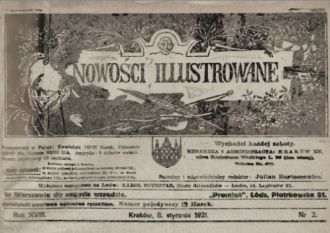 """""""Nowości Ilustrowane"""" utyskiwały na chłodną i głodną Wigilię roku 1920. Brak karpia i innych tradycyjnych potraw trzeba było nadrabiać rodzinną atmosferą."""