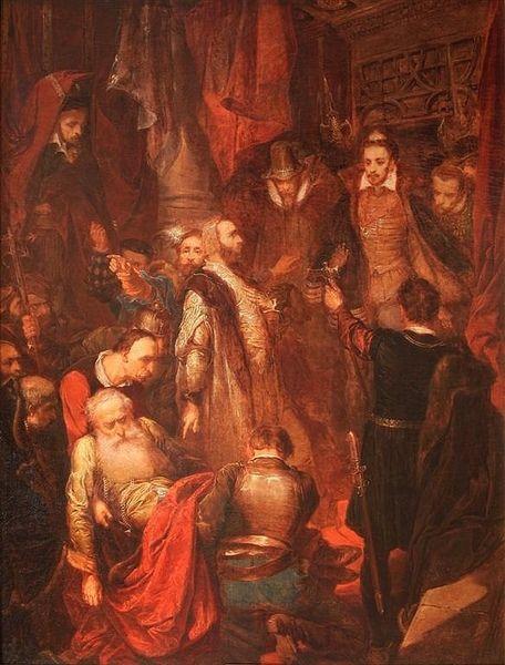 """Żeby tak obrażać królewski majestat przy okazji koronacji? I to na samiutkim Wawelu? To się po prostu musiało źle skończyć. (""""Zabicie Wapowskiego..."""")."""