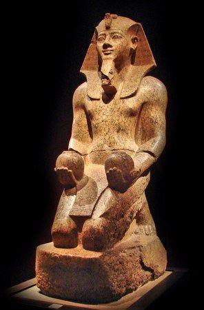 Amenhotep II. Najbardziej wysportowany spośród faraonów? (fot. Jean-Pierre Dalbera; lic. CC ASA 2.0).