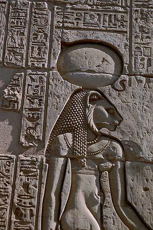 Sekhet. Egipska bogini bagien, polowań i... sportu (fot. Gérard Ducher; lic. CC ASA 2.5).