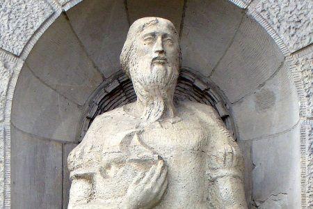 Jan z Kolna. Czy ten pan dopłynął do Ameryki? (fot. Mateusz War, lic. CC ASA 3,0).