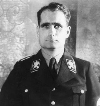 Rudolf Hess. Dla Brytyjczyków był po prostu pośmiewiskiem...