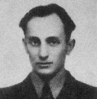 """Podporucznik Waldemar Szwiec """"Robot"""". To on dowodził brawurowym atakiem na Końskie w nocy z 31 sierpnia na 1 września 1943 r."""