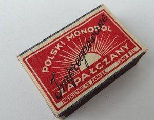 W II RP funkcjonował także monopol zapałczany.