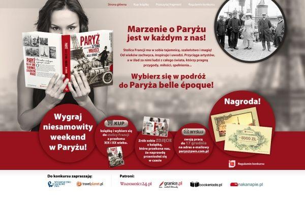 Plakat konkursowy Wydawnictwa Naukowego PWN