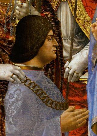 Ludovico Sforza, mistrz intryg i człowiek, który dążył do osiągnięcia swojego celu wszelkimi dostępnymi środkami.