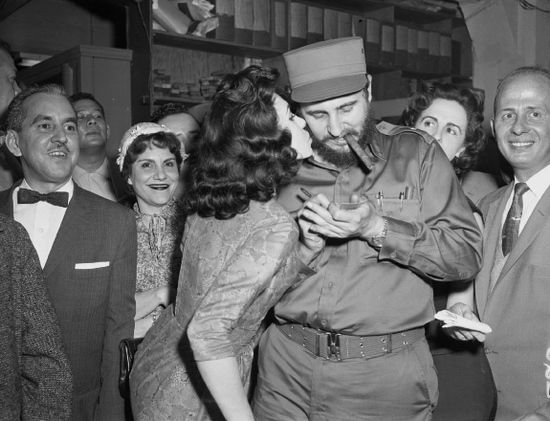 W kwietniu 1959 r. Fidel i Marita pojechali do Nowego Jorku, gdzie Castro cały czas otaczał wianuszek wielbicielek. To zdecydowanie nie spodobało się Maricie.