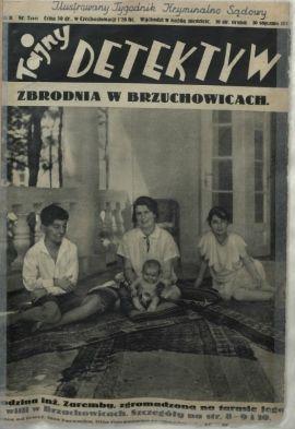 """Numer """"Tajnego Detektywa"""" z 10 stycznia 1932 roku. To w nim po raz pierwszy napisano o warszawskich tragarzach-gangsterach."""