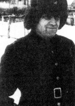 Komandor Kłoczkowski na zdjęciu wykonanym najprawdopodobniej w 1942 r.