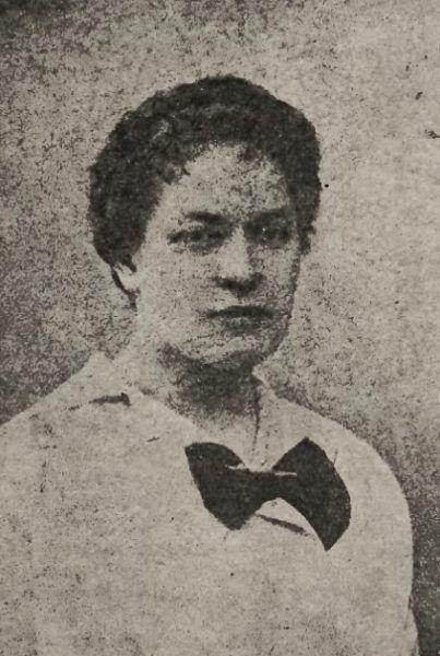 """Rozalia Pałkówna. Ofiara """"mordu na tle seksualnym"""", której zdjęcie w 1921 roku opublikowały """"Nowości Illustrowane""""."""