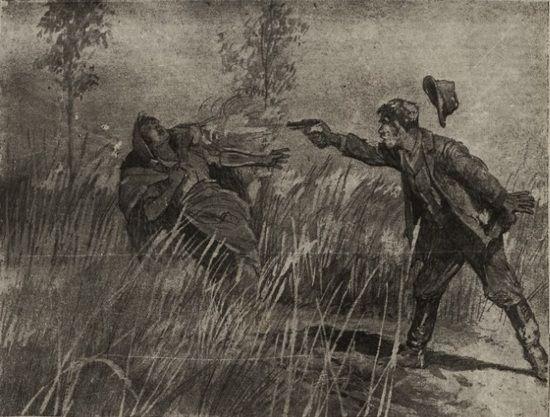 """""""Wojciech Kruk zabija celnym strzałem swą wiarołomną żonę, Julię!"""""""