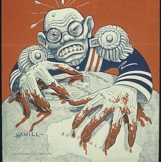 Antyjapoński plakat propagandowy.