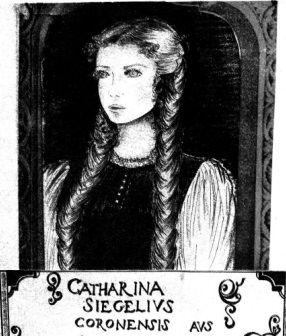 Piękne oczy, blond włosy. Katarzyna Siegel - ukochana wampira w pełnej krasie.