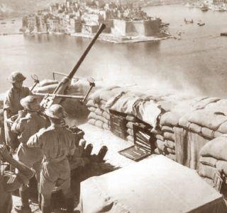 Brytyjski garnizon był gotowy bronić Malty do ostatniej kropli krwi.