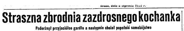 """Nagłówek artykułu opublikowanego przez """"Dziennik Poranny""""."""