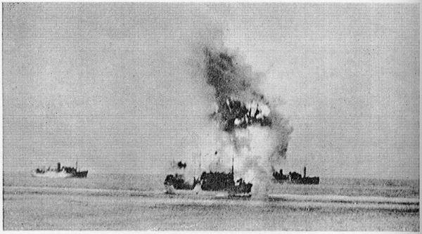 """""""Ohio"""" trafiony niemiecką torpedą. Początek rzezi na Morzu Śródziemnym."""