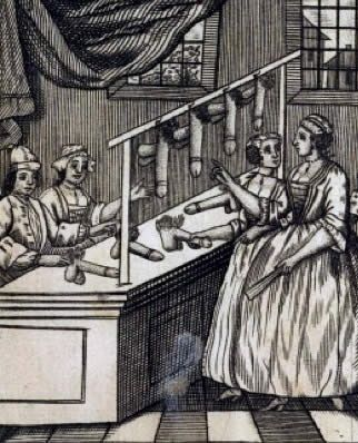 Sklep ze sztucznymi penisami. Ilustracja nowożytna, ale przecież na przestrzeni 100 czy 200 lat nie zmieniło się aż tak wiele...