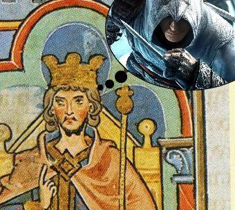 Czarne myśli cesarza Fryderyka Hohenstaufa.