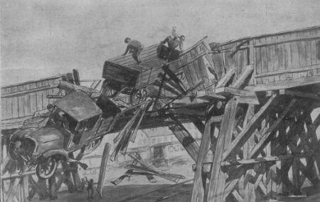 Po pijaku łatwo o katastrofę. Można na przykład wylecieć z mostu. Spektakularnie.