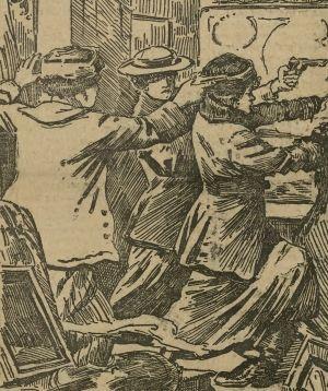 Krwawa zemsta kobiet, albo... walka o separację małżeństwa.