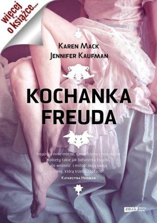 """Ale inspiracją do jej napisania była <a href=""""https://www.znak.com.pl/kartoteka,ksiazka,4228,Kochanka-Freuda"""">powieść """"Kochanka Freuda"""" autorstwa Karen Mack i Jennifer Kaufman</a> (Znak Literanova, 2014)."""