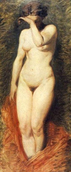 Kurtyzana w wyobrażeniu XIX-wiecznego polskiego malarza, Artura Grottgera.