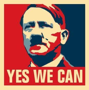 Naziści w Nowym Jorku? Yes we can! (na ilustracji parodia przygotowana przez serwis thepeoplescube.com)
