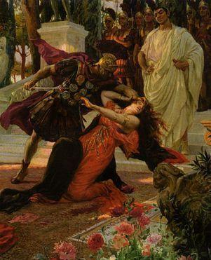 Gdyby nie szybka i zdecydowana postawa Narcyza, zaufanego wyzwoleńca cesarza, Messalina nadal przyprawiałaby rogi Klaudiuszowi.