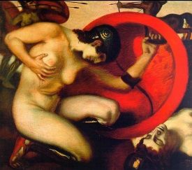 Spartanki, niczym mityczne legendarne Amazonki, były gibkie, wysportowane i... lubiły błyskać udami (i nie tylko).