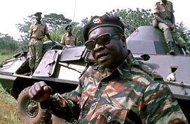Idi Amin Dada, jeden z bohaterów z książki, którą można wygrać w naszym konkursie.