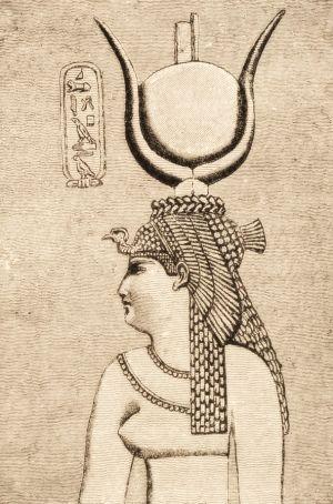 Zamiast patronować sztuce i świątyniom, Kleopatra musiała walczyć o władzę. Mimo to zachowało się sporo jej wizerunków, między innymi ten z Dendery.