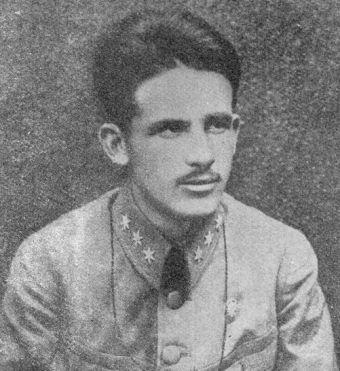 """Kapitan Stanisław Sław-Zwierzyński (na zdj.) nie wiedział co czyni mówiąc """"zapraszam do mojego batalionu""""."""