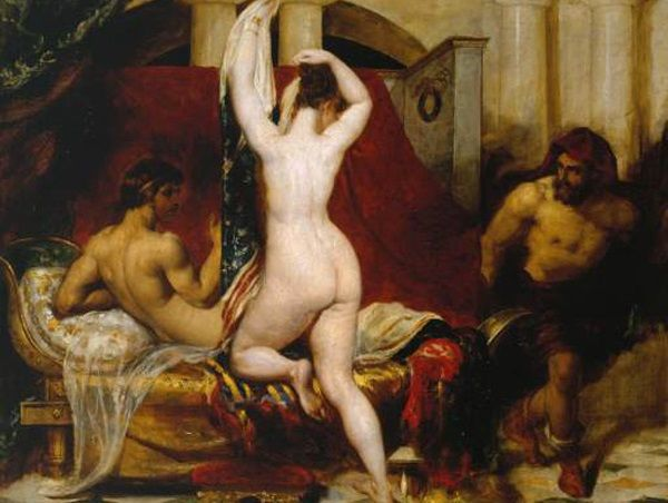 No cóż, seks z najlepszym przyjacielem męża w Sparcie nie był niczym nadzwyczajnym!