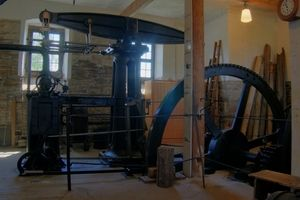 Maszyna parowa wg planu Watta. Freiburg, Niemcy (fot. Eclipse.sx, lic. CC ASA 3.0)