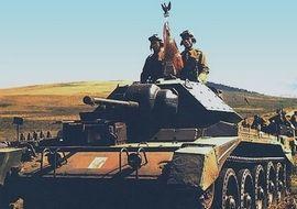 """Gdyby operacja """"Unthinkable"""" doszła do skutku, to żołnierze gen. Maczka starliby się z LWP (źródło: wikimedia commons, domena publiczna)."""