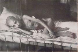 Ofiara glodu w Leningradzie (fot. George Shuklin; lic. CCA 2.5)