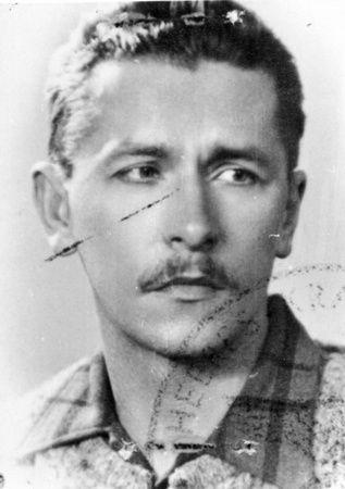 """Stanisław Tomaszewski """"Malarz"""" we własnej osobie."""